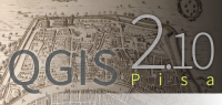 The new splash screen featuring the city of Pisa
