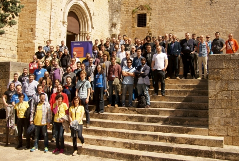 Group picture from Girona